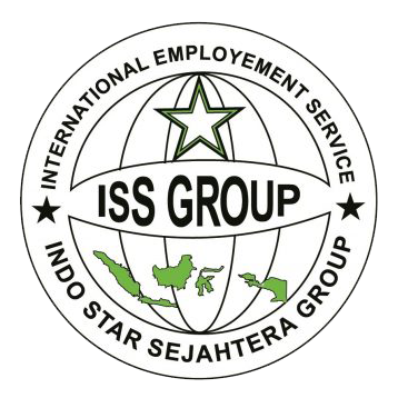 Logo ISS Group bulat